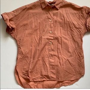 Uniqlo button-down short sleeve